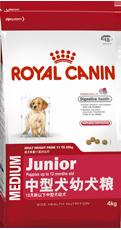 法国皇家 中型犬幼犬粮4kg